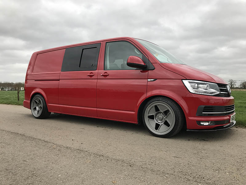Vw T6 Driver Side Sliding Privacy Window Vw T6 Lwb Vw
