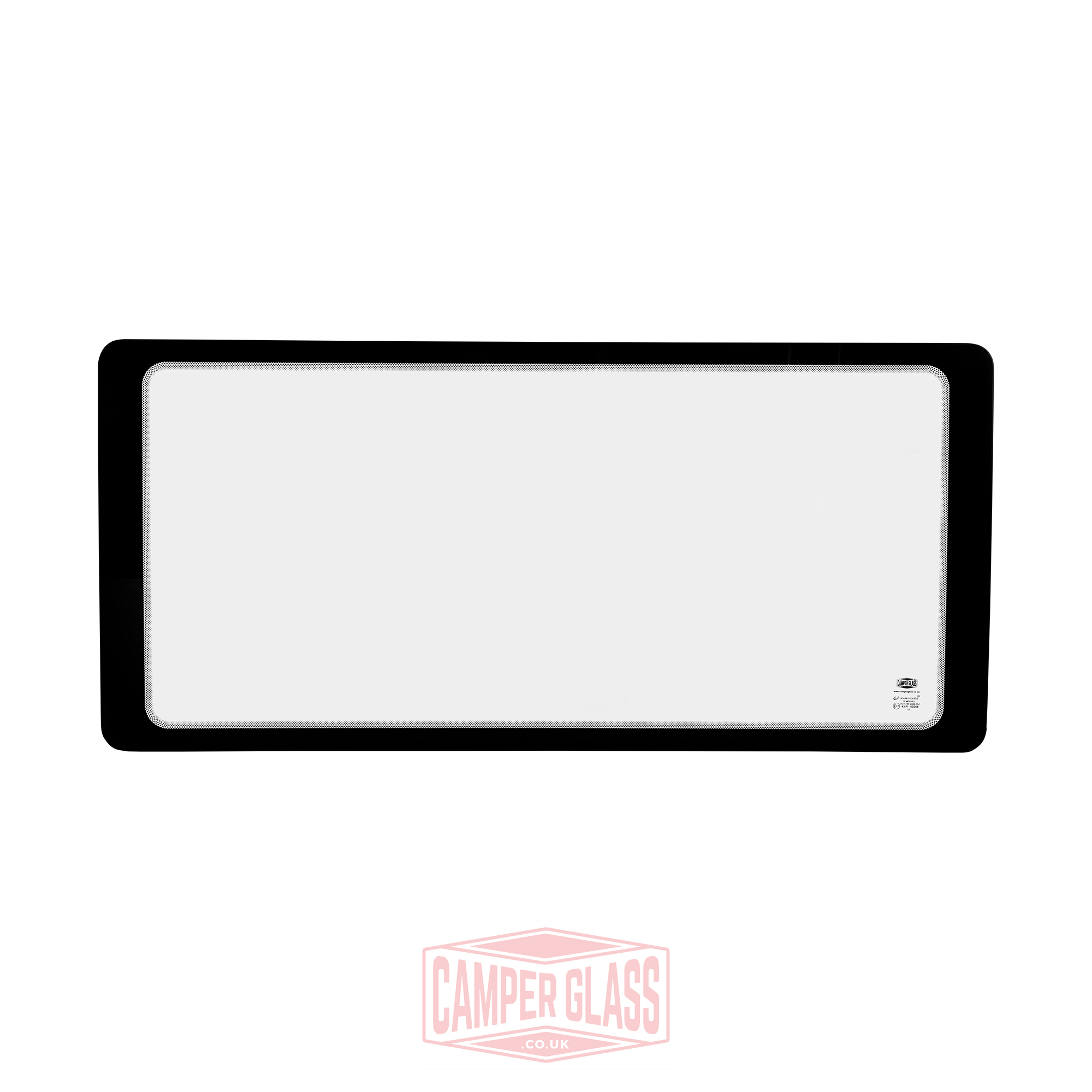 Vw Caddy Maxi Sliding Door Glass: T4 Passenger Side Fixed CLEAR Window