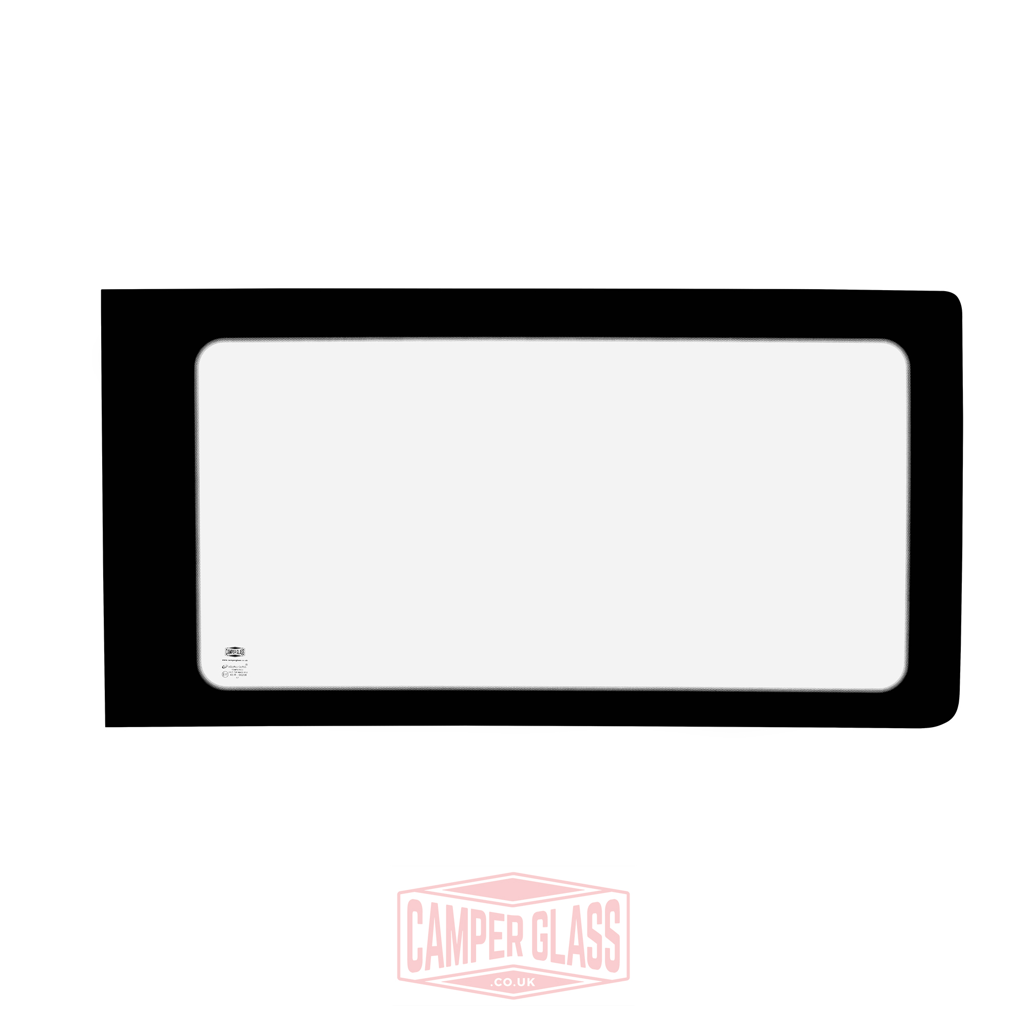 Vw Caddy Maxi Sliding Door Glass: Vw T5 Driver Side Fixed CLEAR Window