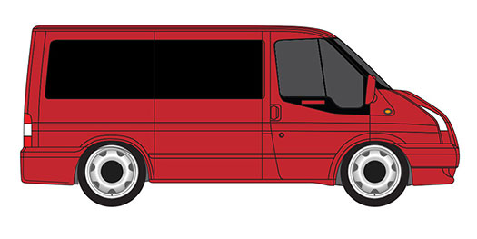 Ford Transit Windows