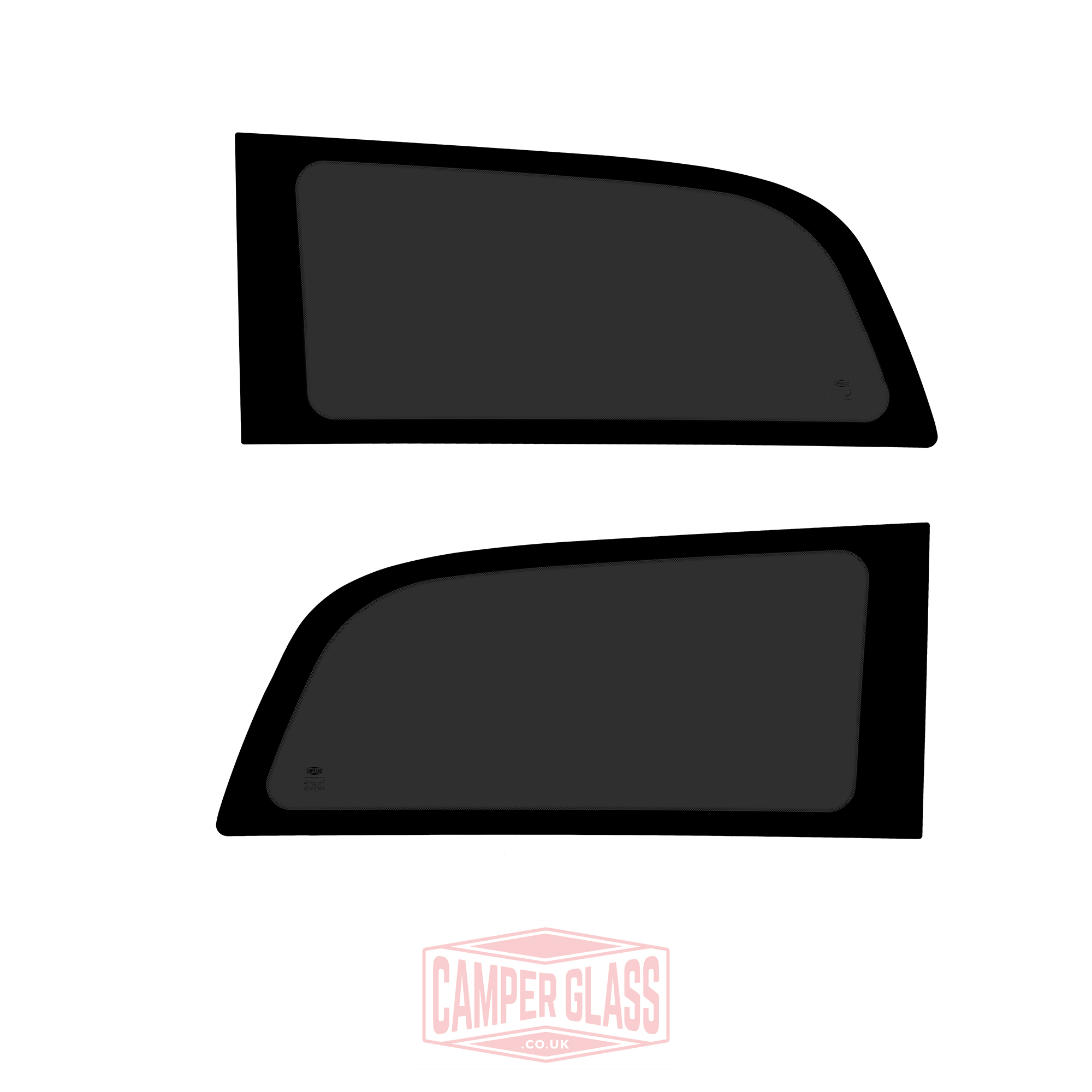 Vw Caddy Maxi Sliding Door Glass: Pair Of Mercedes Vito LWB Rear Quarter Privacy Windows 10