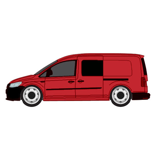 Vw Caddy Maxi Sliding Door Glass: VW Caddy Maxi Passenger Side Fixed Privacy Window