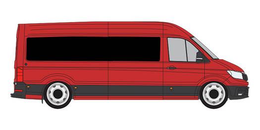 18-21 VW Crafter / Man TGE Windows